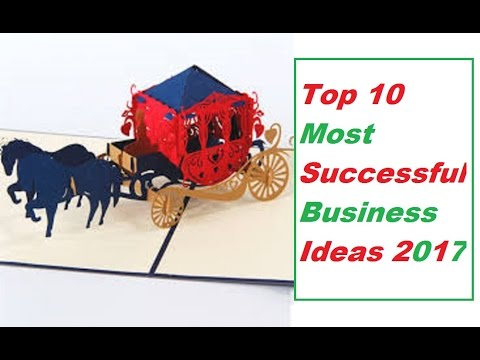 Top 10 Most Successful Business Ideas For 2017
