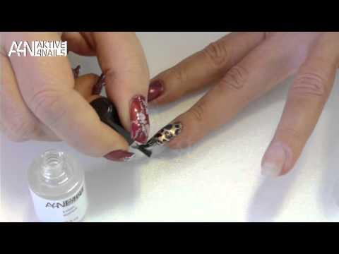 Anleitung Fingernagel Folien Set In Trendy Metallicfarben