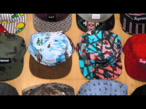 Quick overview of my small 5 panel  camp cap collection 5926344d602