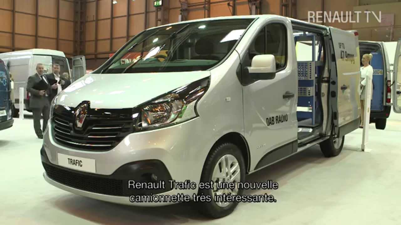 New Renault Trafic at the Birmingham CV show - YouTube