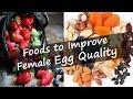 Foods to Improve Female Egg Quality | Best 7 Fertility Diet to Improve Egg Quality