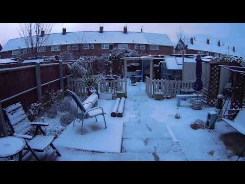 80+ hours timelapse in Hull, Uk (The Beast From The East) 2018