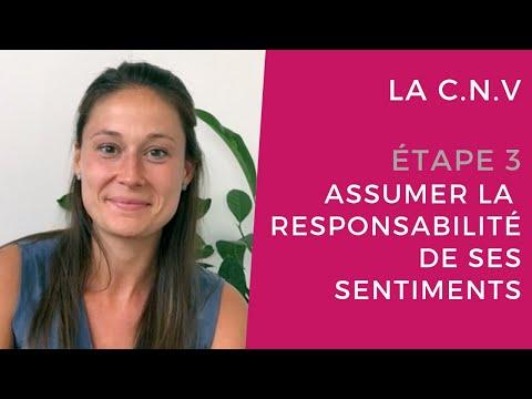 La CNV - étape 3 : Assumer la responsabilité de ses sentiments thumbnail