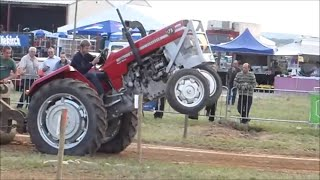 tracteur pulling 2015 retro tract Chimay