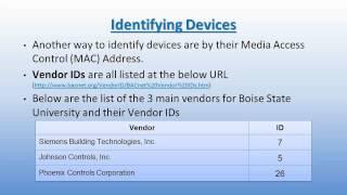 BACnet Overview Part 2