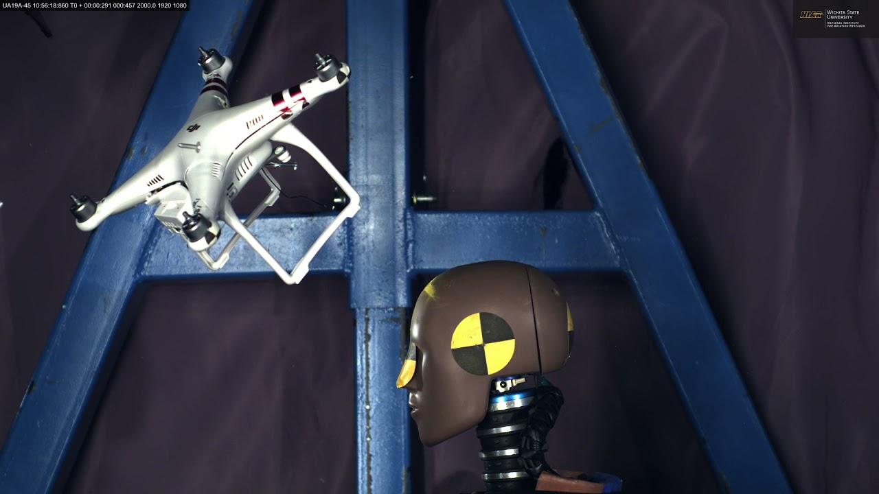 威奇托州立大学的NIAR AVET实验室提供小型无人机测试