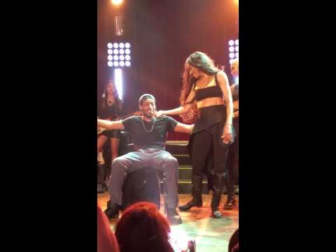 Ciara Gives Fan A Lap Dance - Jackie Tour