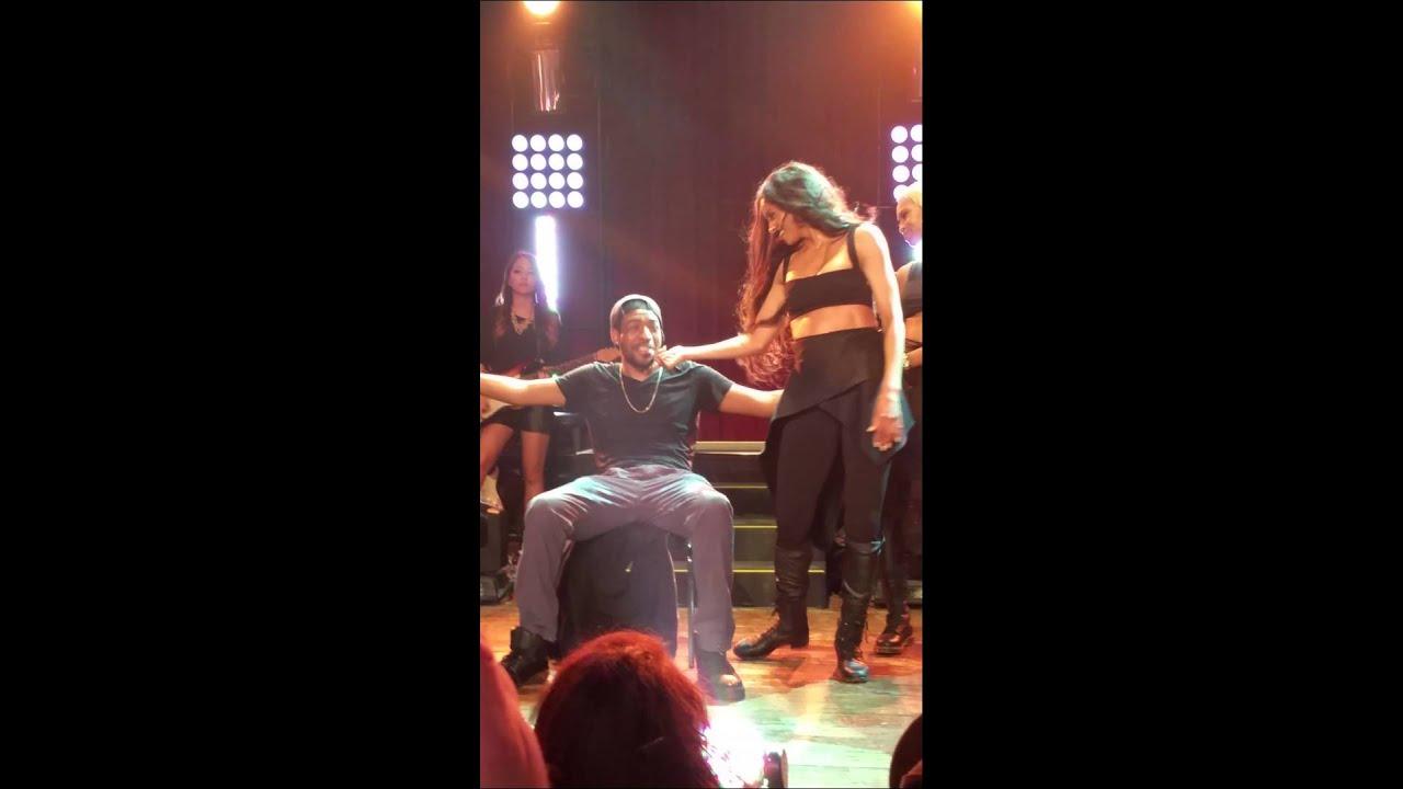 Ciara Gives Fan A Lap Dance Jackie Tour