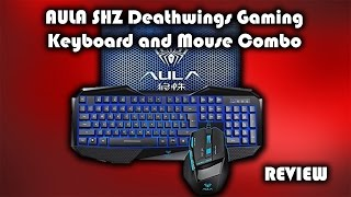 AULA SHZ Deathwings Gaming Keyboard and Mouse Combo Review