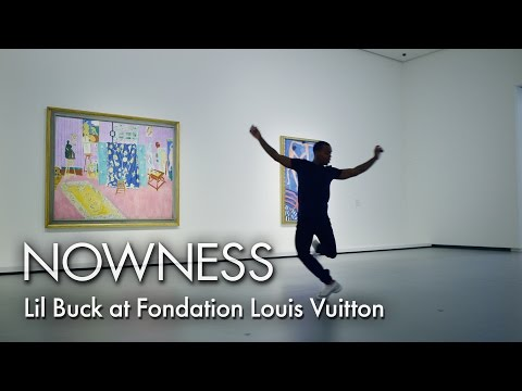 Lil Buck at Fondation Louis Vuitton