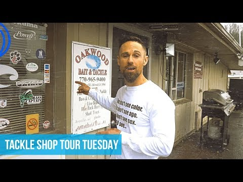 Tackle Shop Tour - Oakwood Bait & Tackle