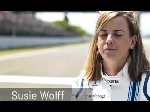 Quick Interview with Susie Wolff   Mercedes Benz original