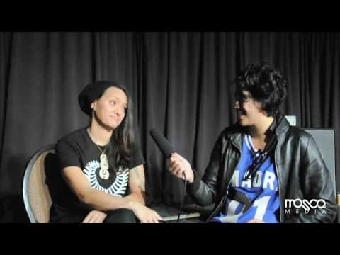 Jess Harlen Interview (Mosca Media) - Notes Live, Newtown (17 May 2012)