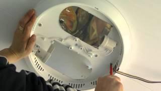 Круглый потолочный светильник: инструкция по монтажу своими руками, видео, фото