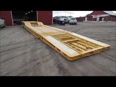 2000 Load King 403/4DFPR drop deck equipment trailer for sal