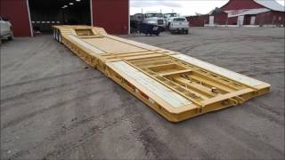 Download Video 2000 Load King 403/4DFPR drop deck equipment trailer for sale | no-reserve auction June 8, 2017 MP3 3GP MP4