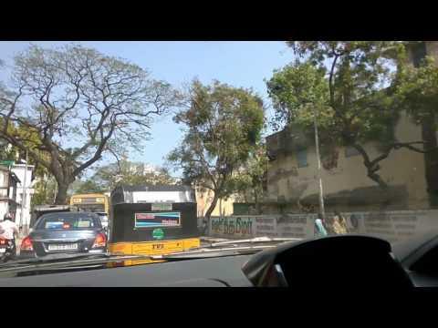 Chennai city main road map