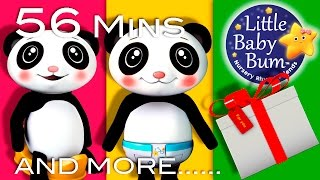 Potty Song | Plus Lots More Nursery Rhymes | 56 Minutes Compilation from LittleBabyBum!