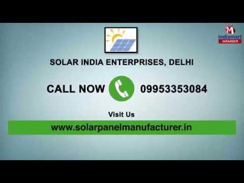 Solar Energy Equipment by Solar India Enterprises, Delhi