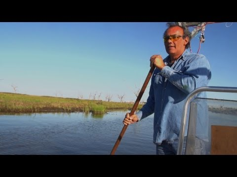 In Louisiana, Rising Seas Threaten Native Americans' Land