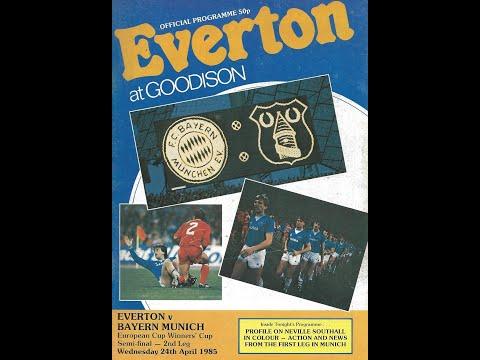 Everton Bayern Munich ECWC SF2 24-04-85