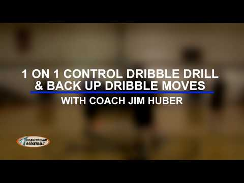 1on1 Dribbling Drill & 3 Back Up Dribble Moves