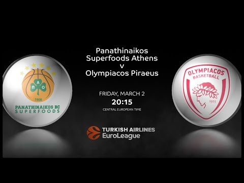#GameON: Panathinaikos Superfoods Athens vs Olympiacos Piraeus