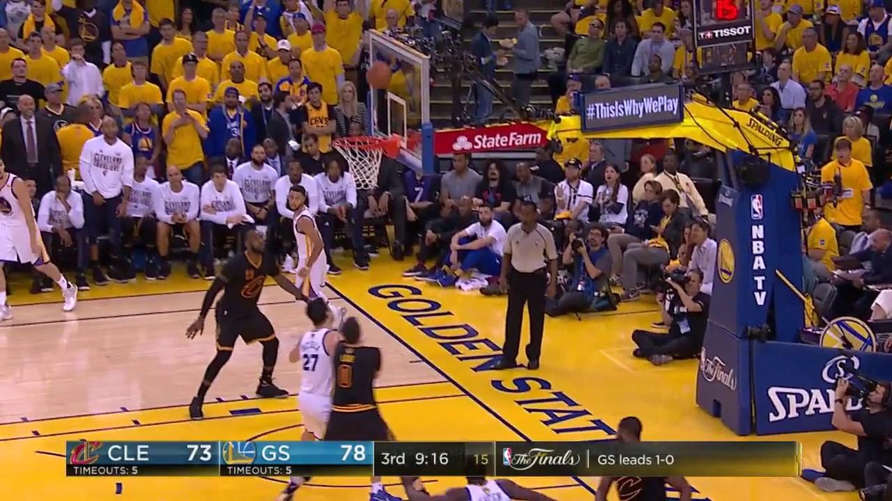 Warriors Splash NBA Finals Record 18 Triples - YouTube
