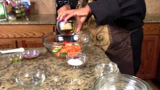 Korean Carrot Salad : Making Salads