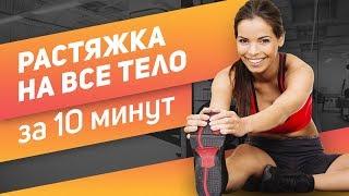 Короткая растяжка после тренировки Делай после КАЖДОЙ тренировки Растяжка на всё тело за 10 минут