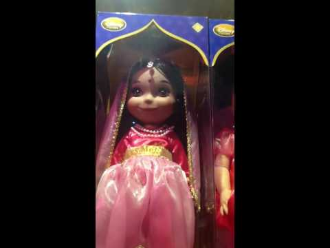 Disney it's a small world animator Indian doll sings