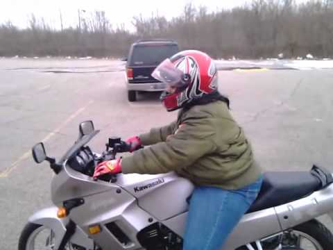 MzGreedii Shifting Gears on 2007 Ninja 250 - YouTube