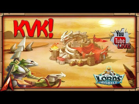 1v1 KvK End! Trying To Get Forts! Lords Mobile