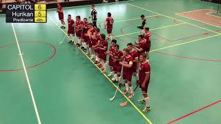 1. liga mužov 1. kolo TEMPISH CAPITOL Floorball Club - VŠK PdF UK Hurikán Bratislava, SZFB
