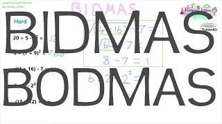 BIDMAS | Maths GCSE and iGCSE Revision