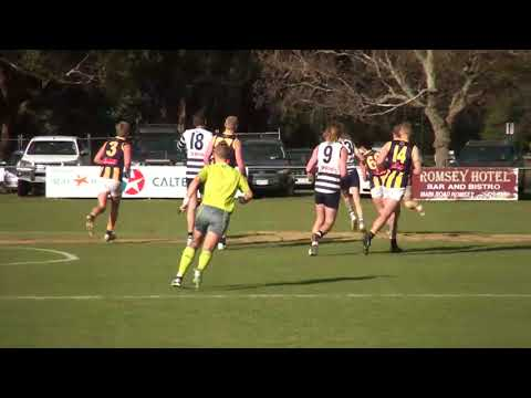 Highlights Qualifying Final Macedon V Rupertswood