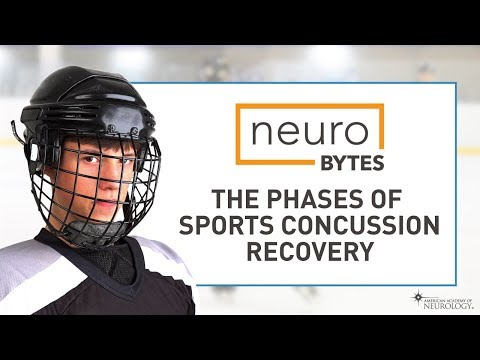 NeuroBytes: The Phases Of Sports Concussion Recovery - American Academy Of Neurology