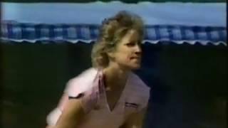 1985 Australian Open 2R Chris Evert d Betsy Nagelsen (3)
