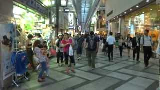 【大阪ミナミ】心斎橋筋商店街 から 地下鉄 心斎橋駅へ