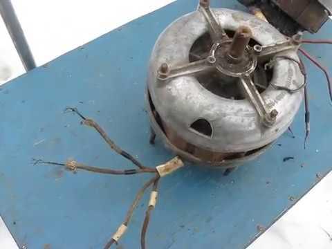 №16 однофазный электродвигатель с пусковой обмоткой подключение ремонт