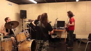 Alestorm - Rehearsal July 2011 - Captain Morgan