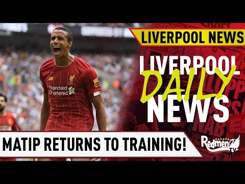 Matip Back In Training & Coutinho Return? | Liverpool Daily News LIVE