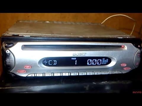 Poważne Radio samochodowe SONY CDX - L480x xplod 4x45w - YouTube KT37