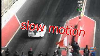 E KANOO Racing ISF Wreck BEST view slow motion!