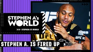 Stephen A. is fired up to see Ciryl Gane face Francis Ngannou