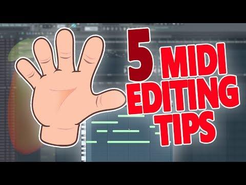 5 Beginner MIDI Editing Tips To Help Boost Your Workflow! - FL Studio Tutorial