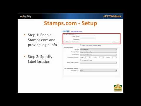 Processing Shipping Labels with eCC