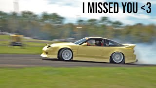 Cream S13 Vs. Big Drift Comp!