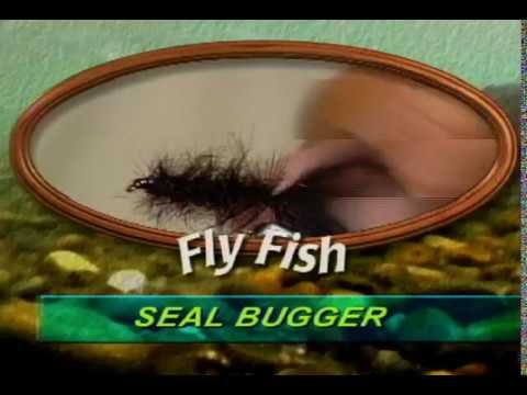 SEAL BUGGER FLY TYING With Denny Rickards