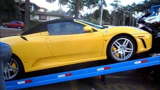 Ferrari F430 Spider Incredible Loud Sound and Powerslide